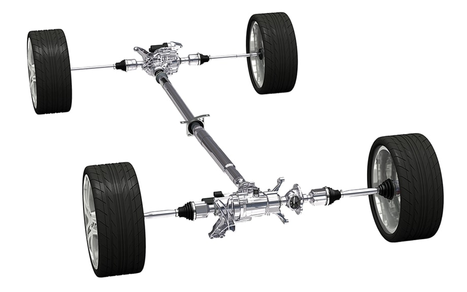 GKN AWD System BSUV