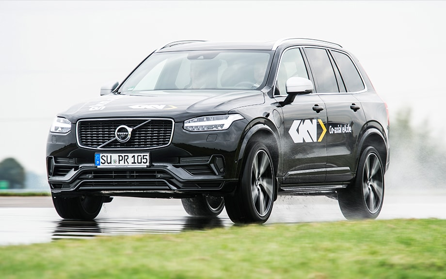 Systems integration partner on the Volvo XC90
