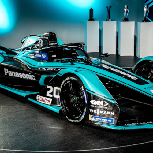 Panasonic Jaguar Racing unveils the all-new Jaguar I-Type 4