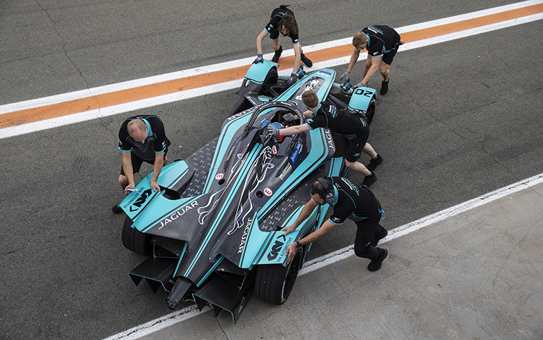Panasonic Jaguar Racing partnership