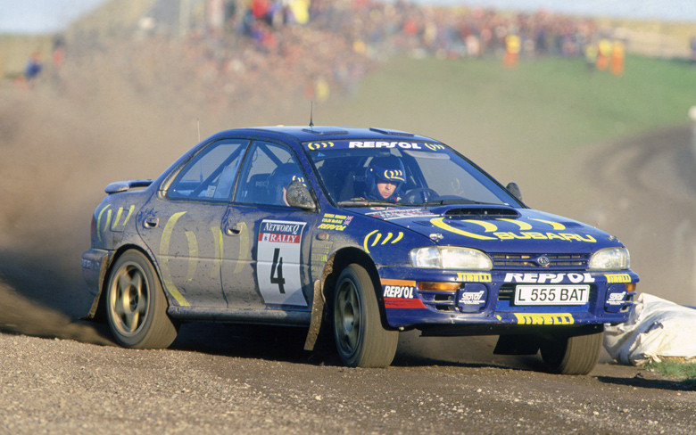 "World Rally Championship: ""If in doubt, flat out"" – Colin McRae in the Subaru Impreza 555 in 1995"