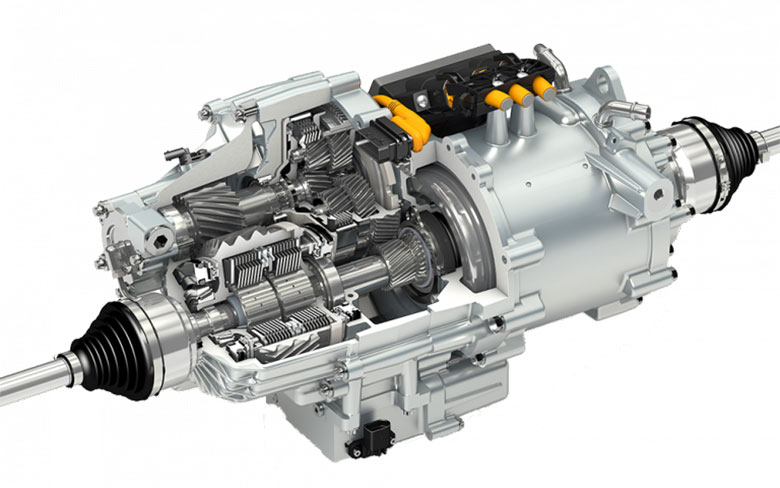 Torque vectoring Twinster® electric drive system